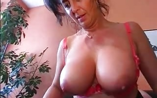 German Busty Mature does her hubby