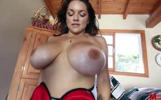 Monica Mendez Stunningly Beautiful Wearing Her Lace Bra