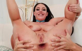 Curvy Angela White Anal Gaping & A2M