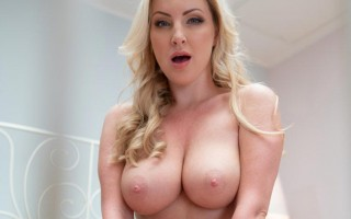 Hot creampie for big tits UK blonde Georgie Lyall