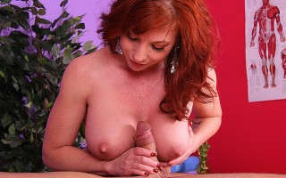Sexy Brittany Is Putting Hot Oil On Her Body And Big Tits!
