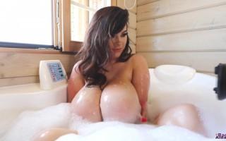 Rachel Aldana Afternoon Bath Playing With Bubble Bath