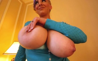 September Carrino So Lovely Showing Her Big Natural Jugs You Will Desire