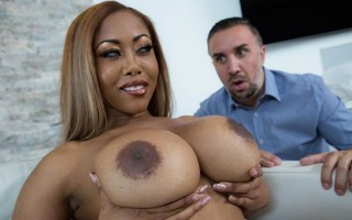 Babysitter Moriah Mills got boobs and big ass