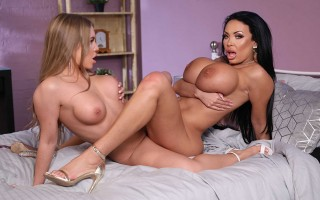 Alessandra Jane & Anastasia Doll in A Hot And Mean Proposition