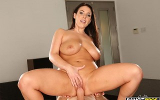 Angela White gets a proper massage