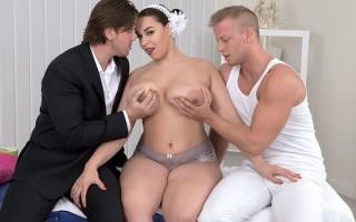 Three On A Massage Table