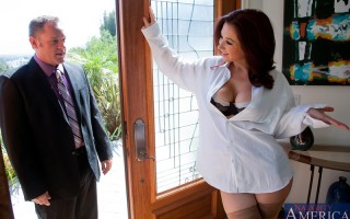 Jayden Jaymes is home alone again. Her husband is away on work but very aware of her needs, so he allows her to do what she needs to do for satisfaction ��� even if it's with his best friend Alec. They've even set it up so tha