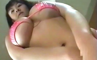 Ayami Sakurai showing her natural big breasts doing hardcore