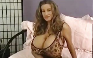 giant tits rubbing sweet pussy
