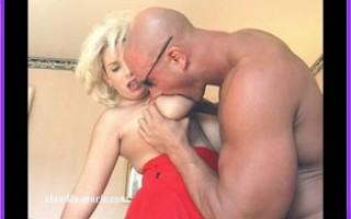 Joe Makes Sure That Claudia-Marie\'s Big Hangers Are Bone Dry