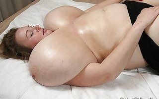 Lily Slippery Giant Big Tits 720p