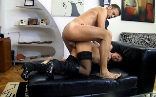 Girl Can't Stop Screaming Over Rocco's Huge Cock Fucking Her
