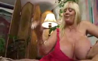 Huge Tits Jerk Off