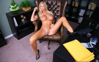 12 pics and 1 movie of Brooke from Big Tits Boss