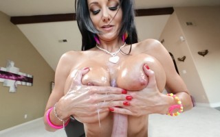 Ava Addams gets her monumental boobs fucked in POV video