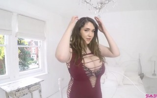 Bella Brewer Desirable Big Boobs for You to Touch and Feel