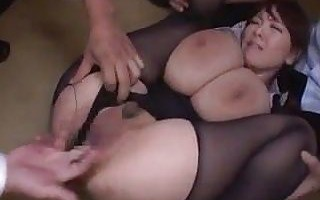 Busty Hitomi has Group Sex